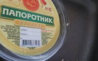 Салат из папоротника рецепт
